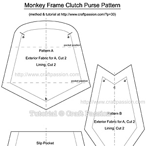 Monkey-Frame-Clutch-Pattern
