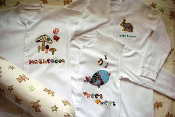 Appliques – Baby Pyjamas