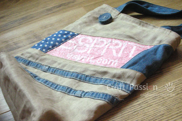 Recycled Material Tote Bag