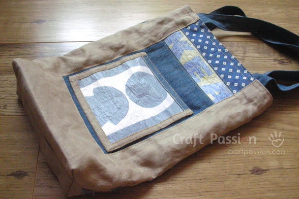 Tote Bag Made From Recycled Material