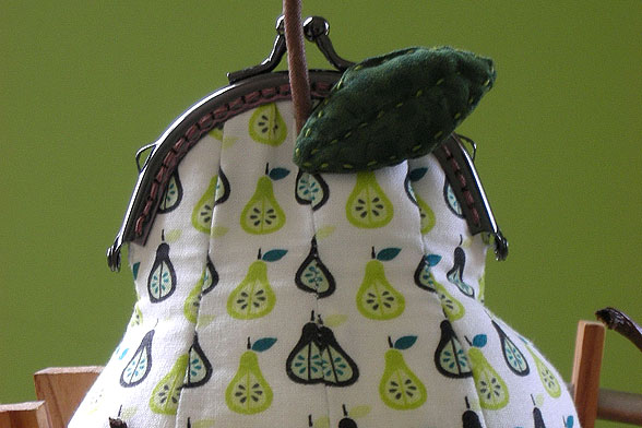 It's A Pear, It's A Purse, It's A Pear-Shaped Purse