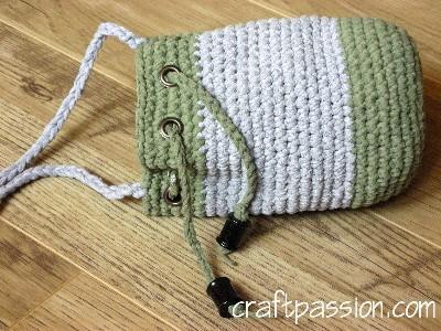 Crochet Drawstring Bag Pattern Best Photos Skirt And Bag