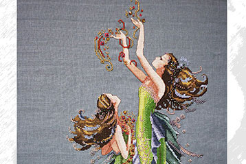 Cross Stitch: Mermaids Of The Deep Blue