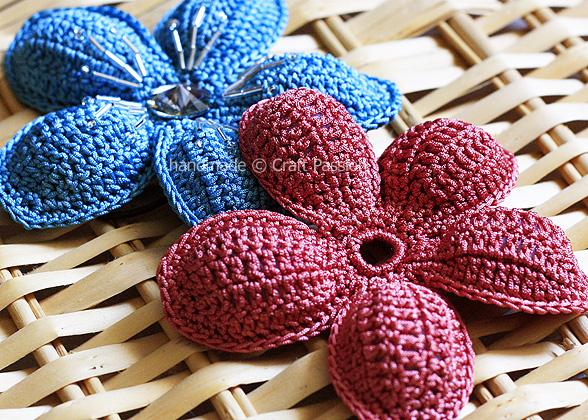 5 Petal Flower crochet pattern