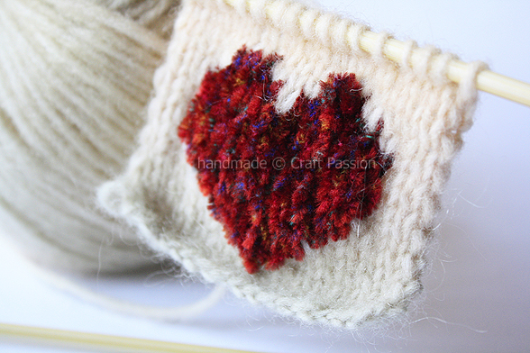 Knit A Heart Pattern