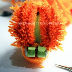 Pom Pom Pumpkin 5
