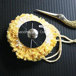 Pom Pom hair Pin 3
