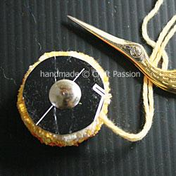 Pom Pom hair Pin 4