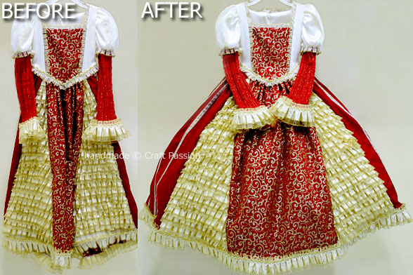 Before After Crinoline