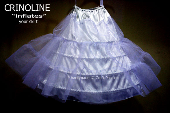 Crinoline - Sewing Pattern | Free Pattern & Tutorial @ Craft Passion