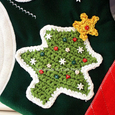 Christmas Tree Crochet 1