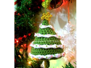 crochet amigurumi christmas tree