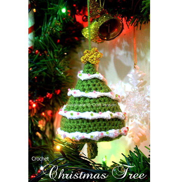 Christmas Tree Free Amigurumi Pattern Craft Passion