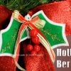DIY Felt Holly Berries