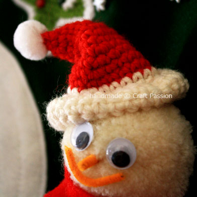 Santa Hat - Christmas | Free Crochet Pattern| Craft Passion