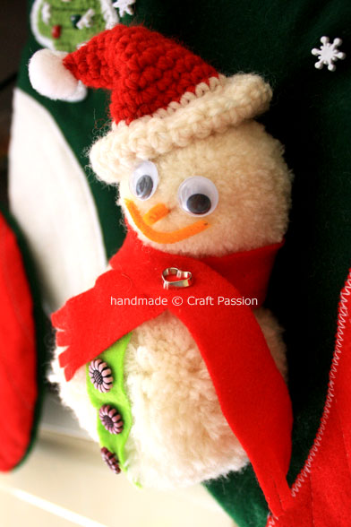 Pom-Pom Snowman