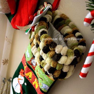 Christmas Stocking cuff