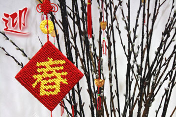 Locker Hook Tutorial: Chinese New Year Ornament
