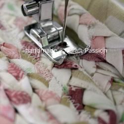 make braided rag rug