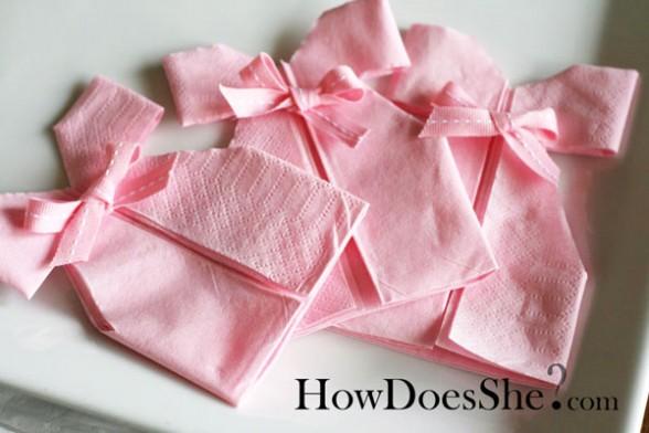 napkin dress 2