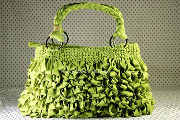 crochet Shaggy Bag