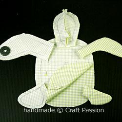 Turtle pincushion combo WIP1