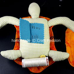 Turtle pincushion combo WIP17