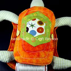 Turtle pincushion combo WIP18