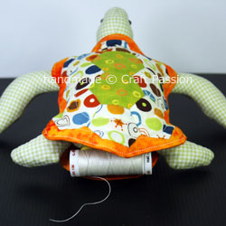 Turtle Pincushion WIP