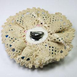 Raffles Flower Corsage Headband