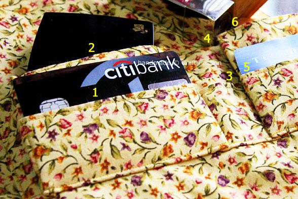 sew Slip Pocket for purse