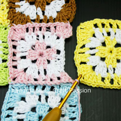 Patching Of Granny Square