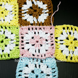 Complete patching up Granny Square