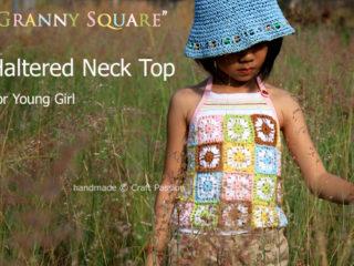 granny square top