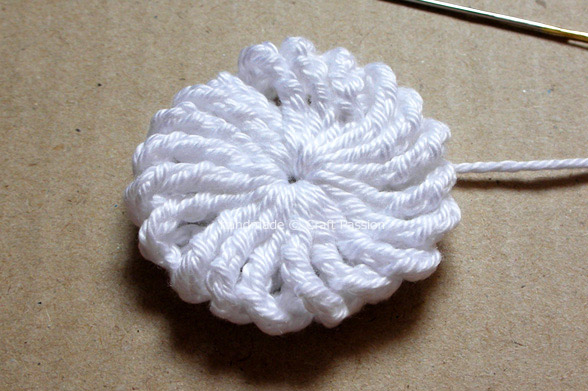 Yoyo Puff Free Crochet Pattern Tutorial Craft Passion