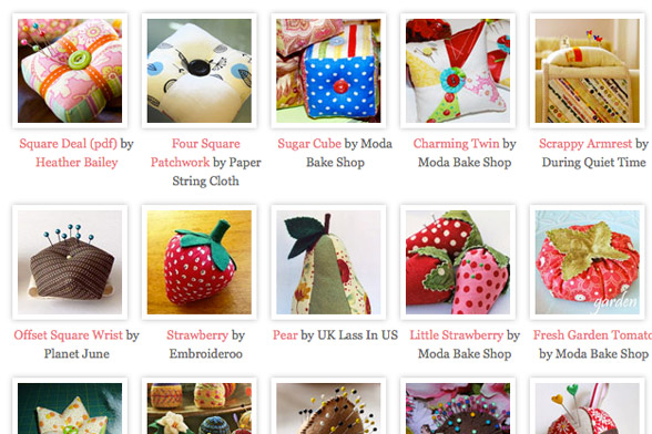 30 PinCushion Patterns