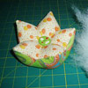 Star Fruit Pincushion by Aby Quilt