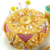 Yoyo Pincushion by Crafty Pod
