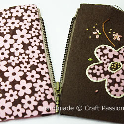 Floral wallet WIP1