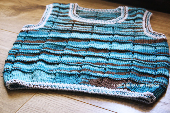 Knitted Vest For Toddler