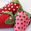 Little Strawberry Pincushion by Moda Bake Shop