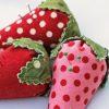 Little Strawberry Pincushion by Moda Bake Shop