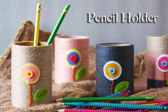 Recycle Pencil Holder