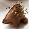 Porcupine Pincushion by Prudent Baby