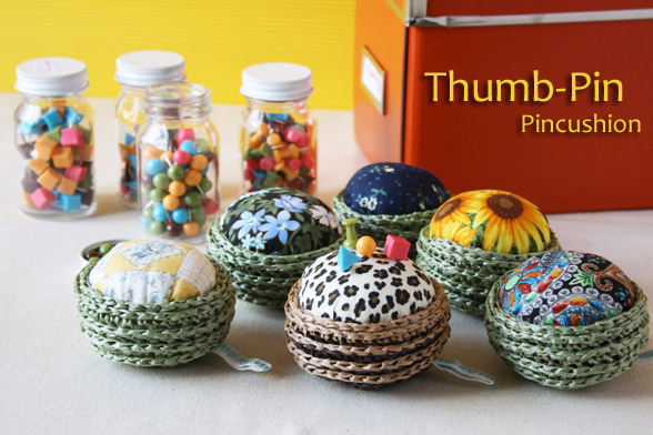 Thumb pin Pincushion charity