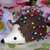 Hedgie Pincushion by Urban Debris