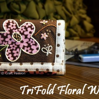 Trifold Wallet Sewing Pattern