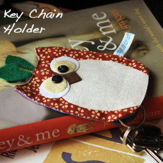 Owl Key Pouch Sewing Pattern