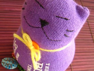 How to Sew Sock Kitty