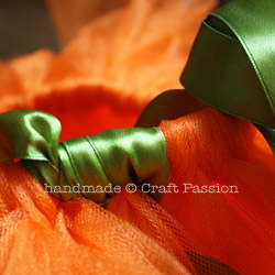 Make Halloween Pumpkin Tutu Costumes